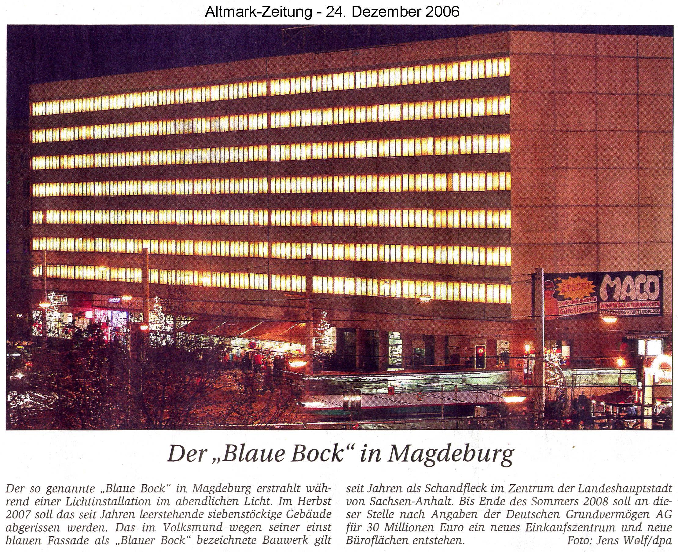 Blaue Weihnachtsbeleuchtung.Blauer Bock Mit Weihnachtsbeleuchtung Blog Blinkenarea Org